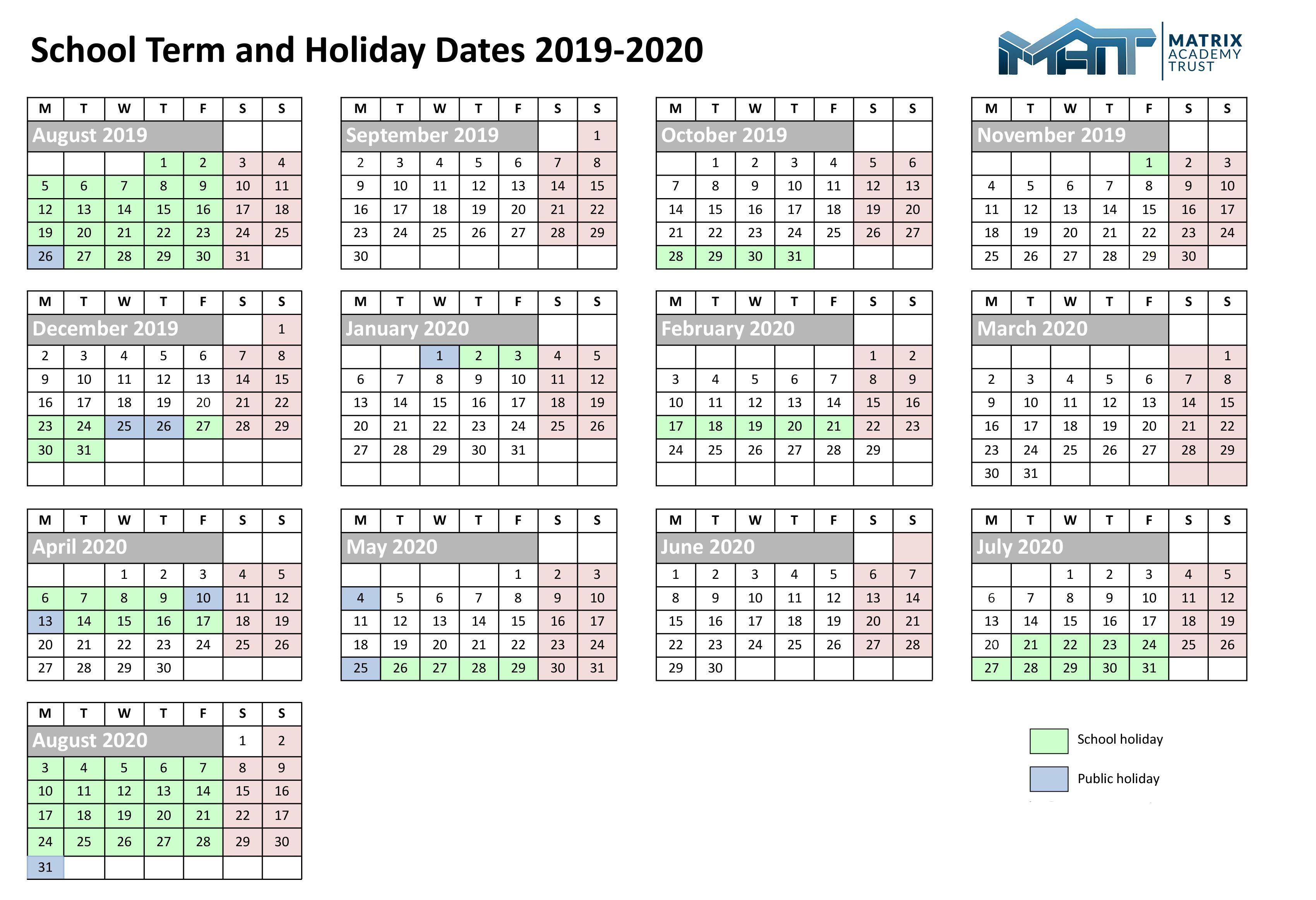 Matrix-Dates